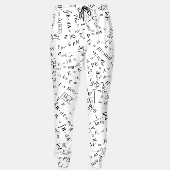 Thumbnail image of Equation Overload II Cotton sweatpants, Live Heroes