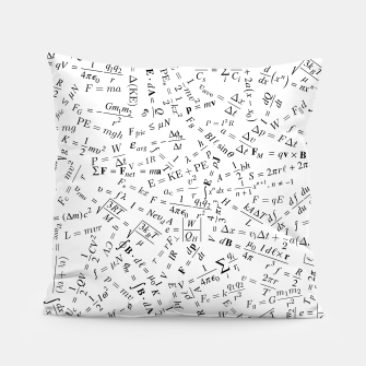 Thumbnail image of Equation Overload II Pillow, Live Heroes