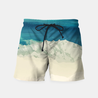 Thumbnail image of Blue Mountain Swim Shorts, Live Heroes