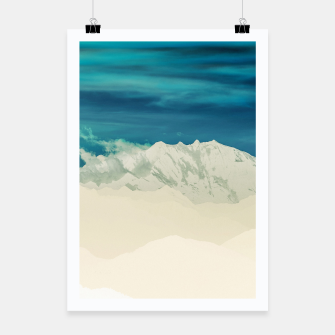 Miniatur Blue Mountain Poster, Live Heroes