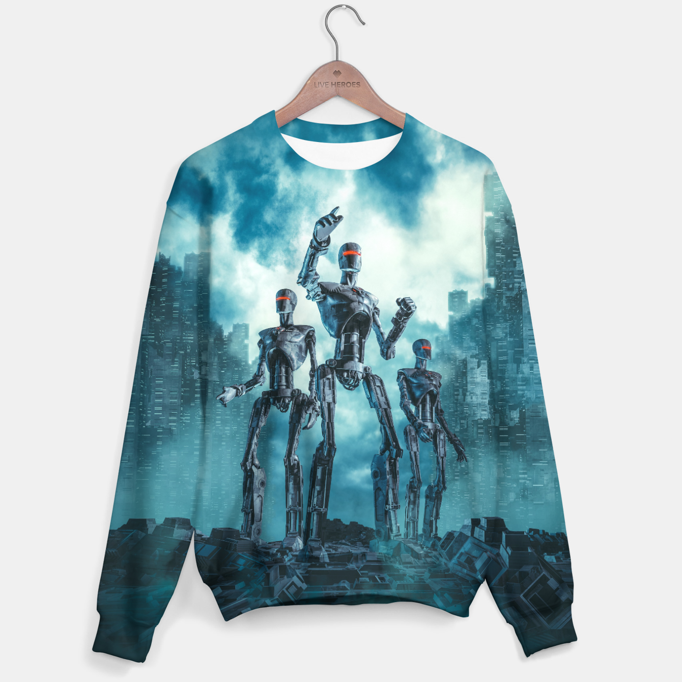 Image of The Patrol Cotton sweater - Live Heroes