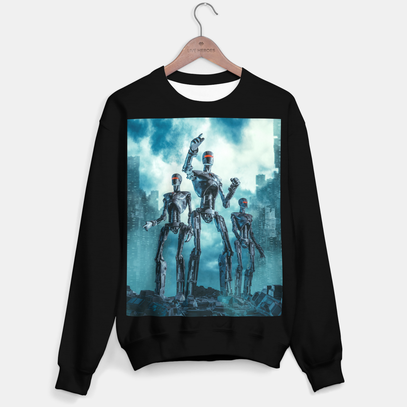 Image of The Patrol Sweater regular - Live Heroes