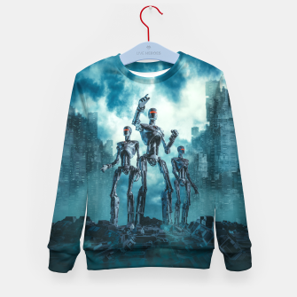 Thumbnail image of The Patrol Kid's sweater, Live Heroes