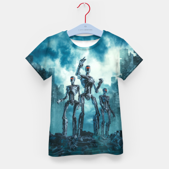 Thumbnail image of The Patrol Kid's t-shirt, Live Heroes