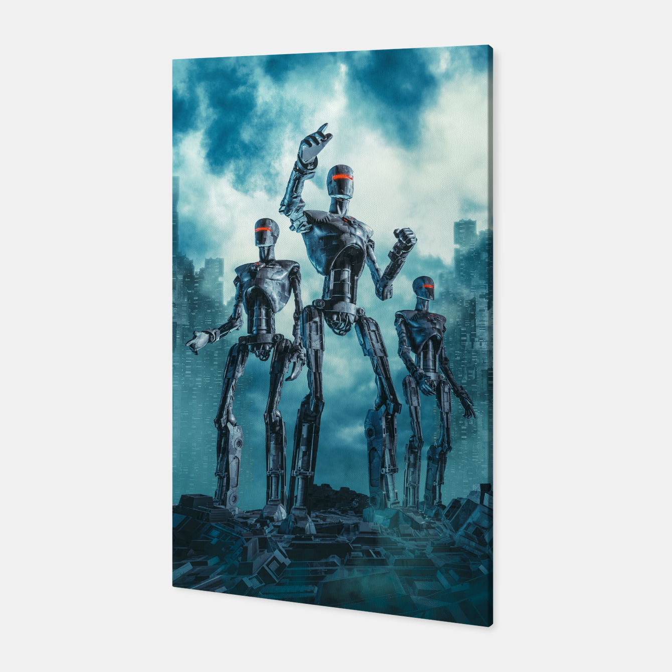 Image of The Patrol Canvas - Live Heroes