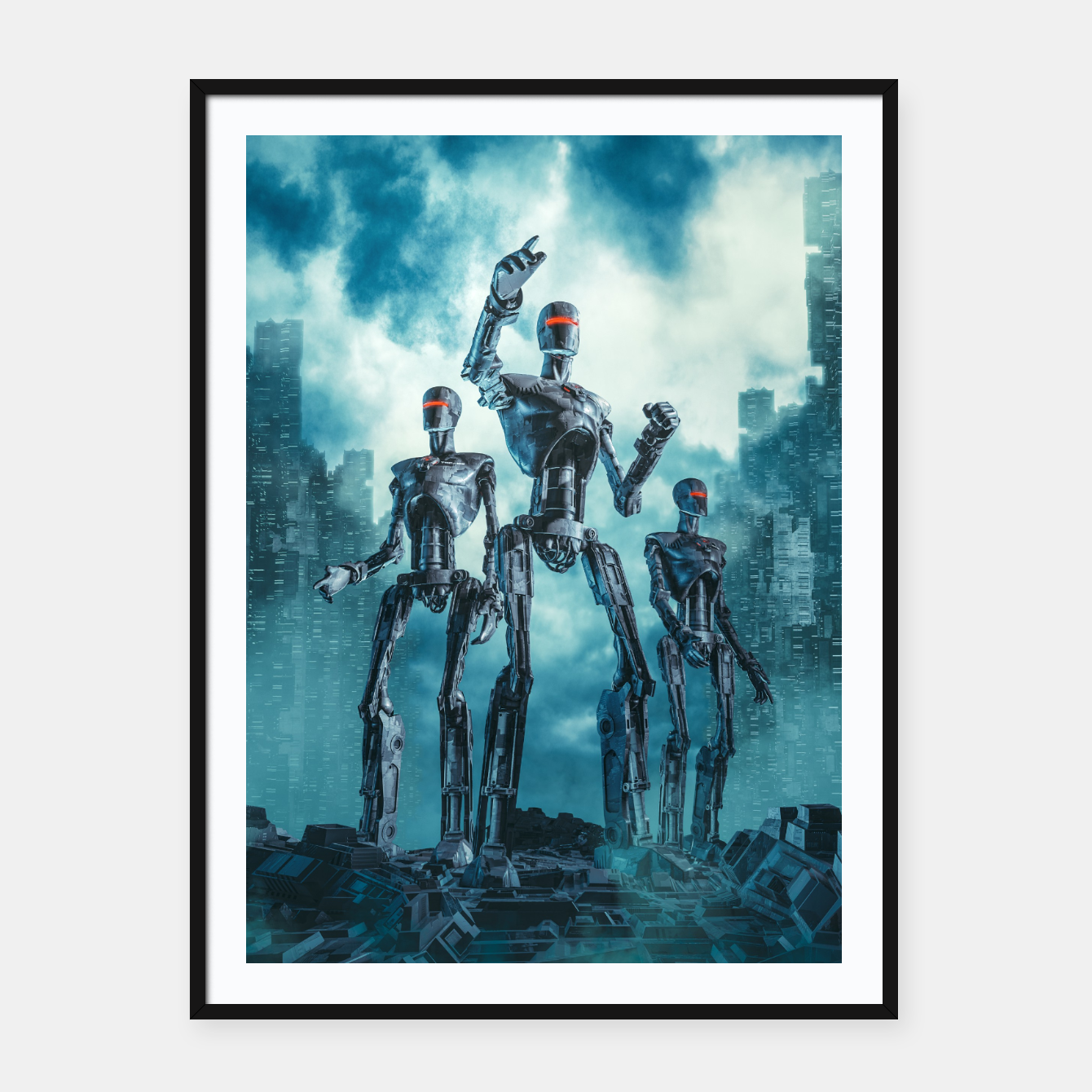Image of The Patrol Framed poster - Live Heroes