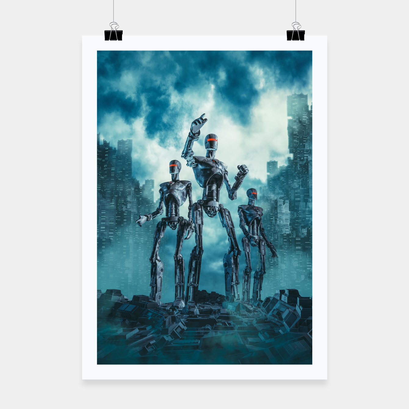 Image of The Patrol Poster - Live Heroes