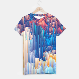 Thumbnail image of Glitches in the Clouds T-shirt, Live Heroes