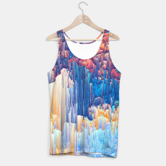 Thumbnail image of Glitches in the Clouds Tank Top, Live Heroes
