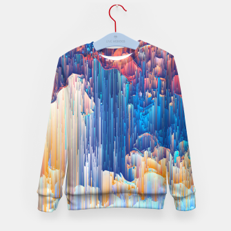 Thumbnail image of Glitches in the Clouds Kid's sweater, Live Heroes