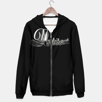 Thumbnail image of Architect Cotton zip up hoodie, Live Heroes