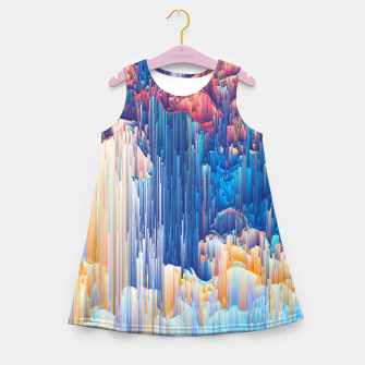 Thumbnail image of Glitches in the Clouds Girl's summer dress, Live Heroes