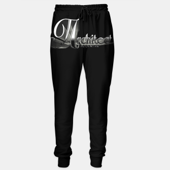 Thumbnail image of Architect Cotton sweatpants, Live Heroes