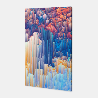 Thumbnail image of Glitches in the Clouds Canvas, Live Heroes