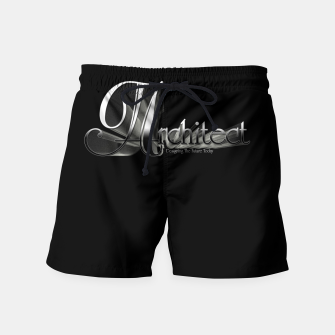Thumbnail image of Architect Swim Shorts, Live Heroes