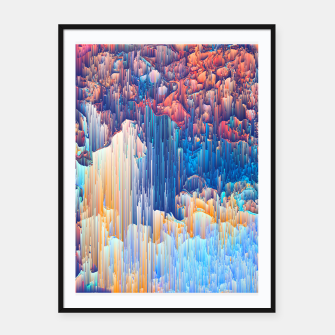 Thumbnail image of Glitches in the Clouds Framed poster, Live Heroes