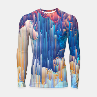 Thumbnail image of Glitches in the Clouds Longsleeve rashguard , Live Heroes