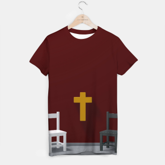 Thumbnail image of christian cross T-shirt, Live Heroes