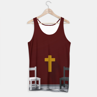 Thumbnail image of christian cross Tank Top, Live Heroes