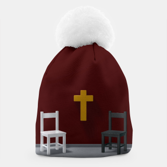 Thumbnail image of christian cross Beanie, Live Heroes