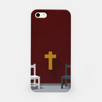 Thumbnail image of christian cross iPhone Case, Live Heroes