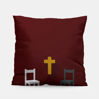 Thumbnail image of christian cross Pillow, Live Heroes