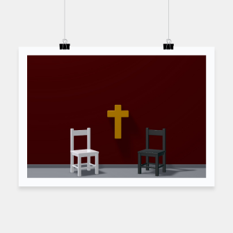 Thumbnail image of christian cross Poster, Live Heroes
