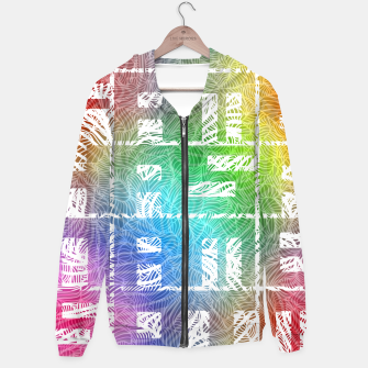 Thumbnail image of famehasanamesotm Cotton zip up hoodie, Live Heroes