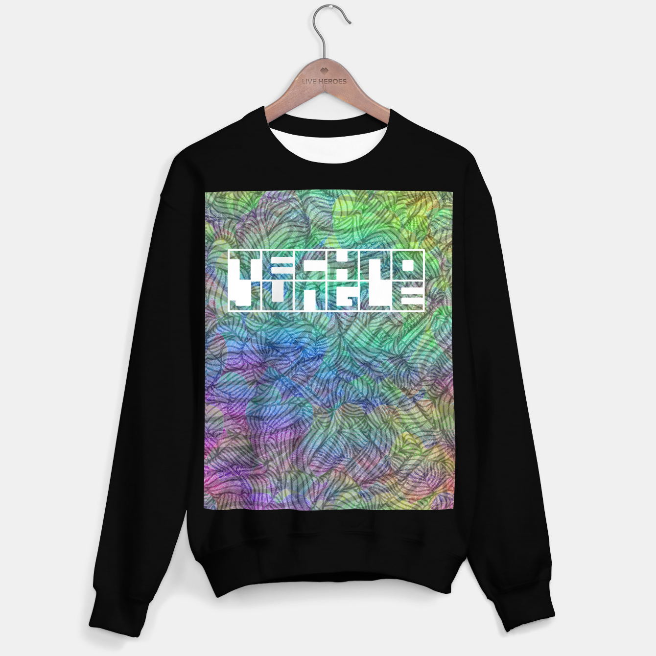 Image of Techno Jungle Sweater regular - Live Heroes