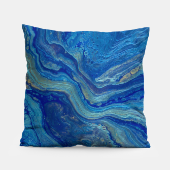 Thumbnail image of Agate - An Abstract Pillow, Live Heroes