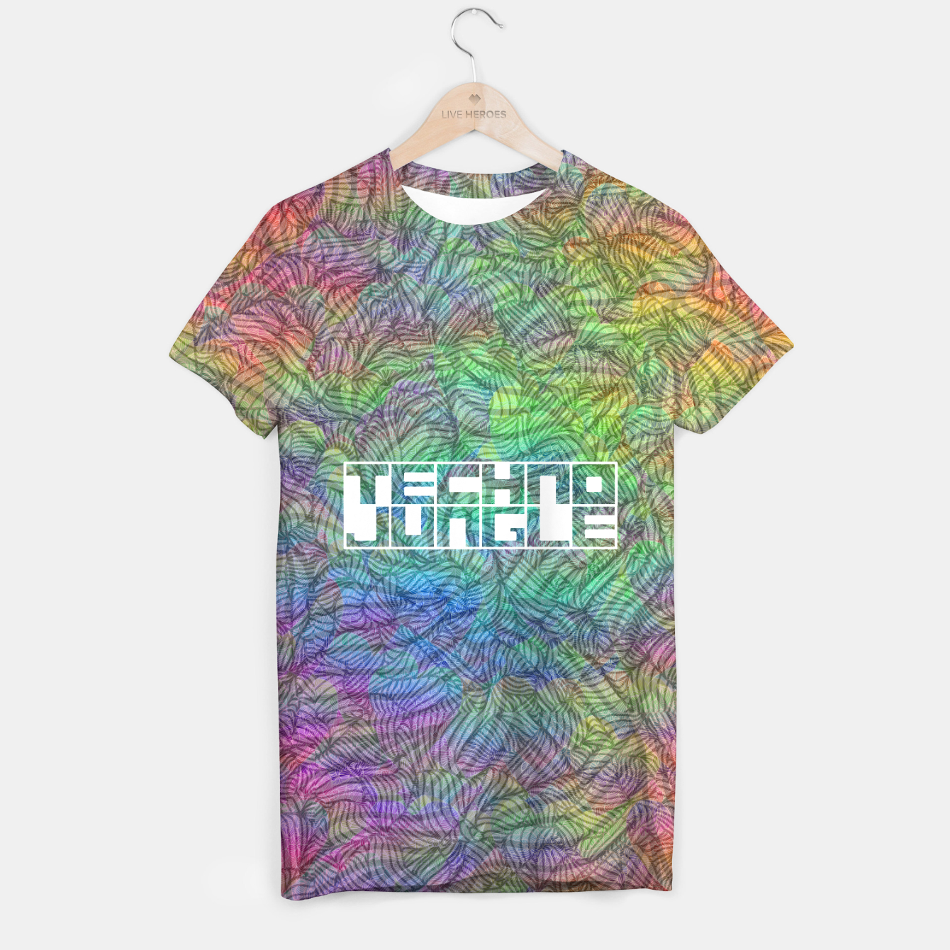 Image of Techno Jungle T-shirt - Live Heroes