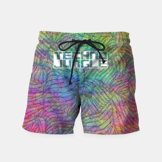 Techno Jungle Swim Shorts thumbnail image
