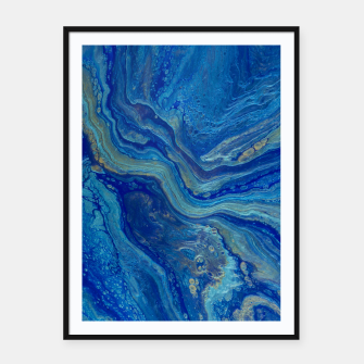 Miniatur Agate - An Abstract Framed poster, Live Heroes