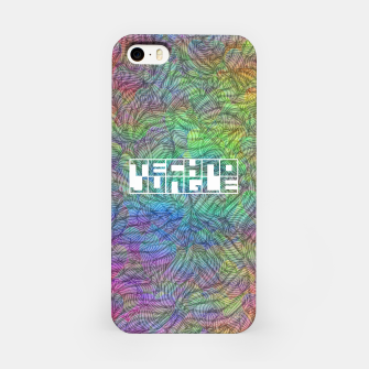 Techno Jungle iPhone Case thumbnail image