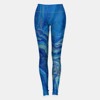 Miniatur Agate - An Abstract Leggings, Live Heroes