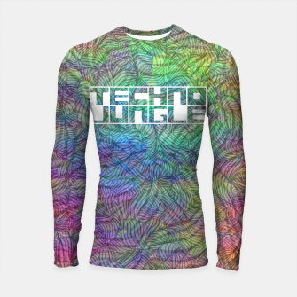 Thumbnail image of Techno Jungle Longsleeve rashguard , Live Heroes