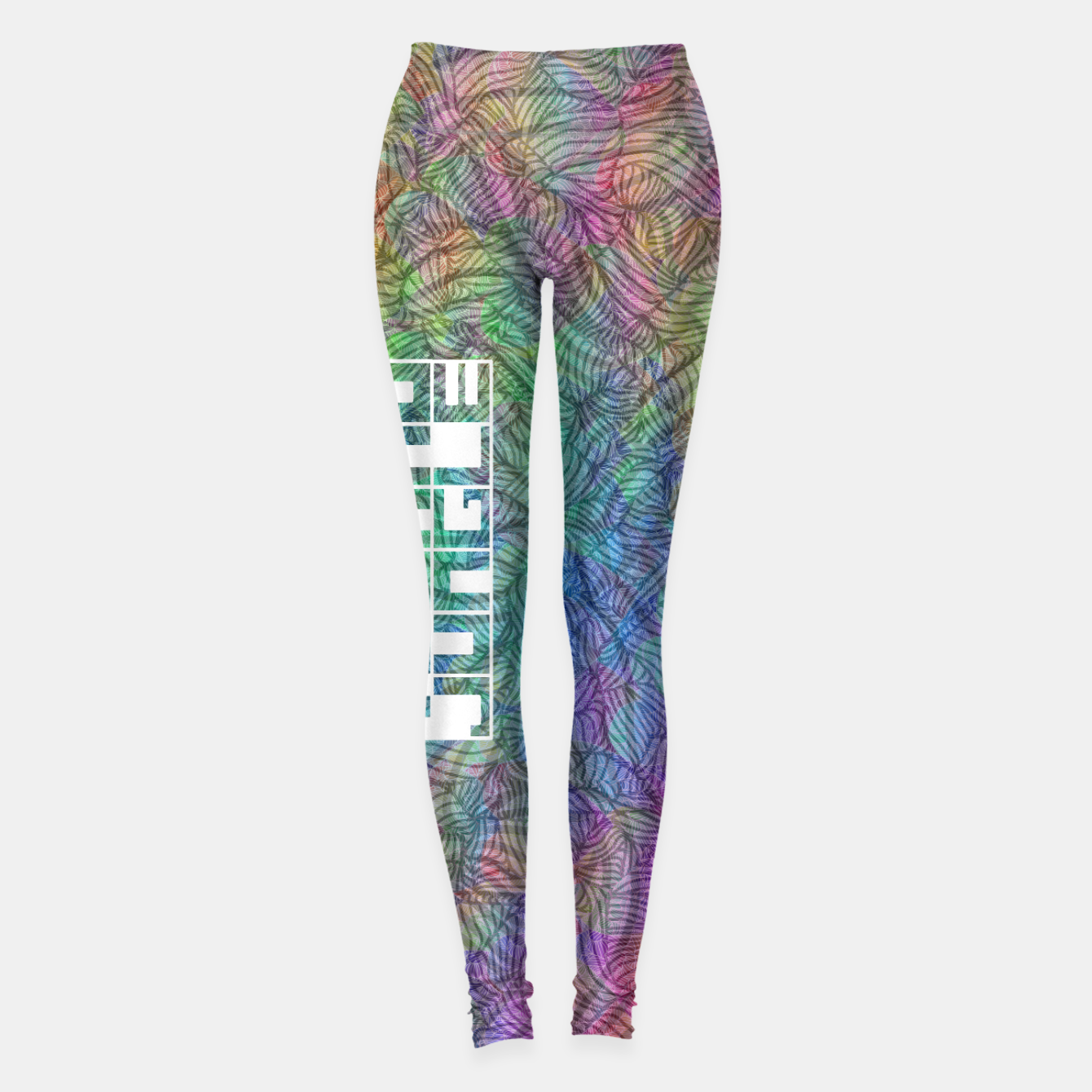 Image of Techno Jungle Leggings - Live Heroes