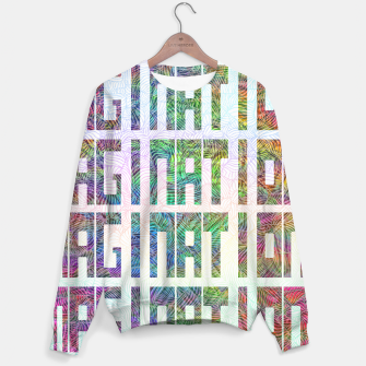 Thumbnail image of Imagination Cotton sweater, Live Heroes