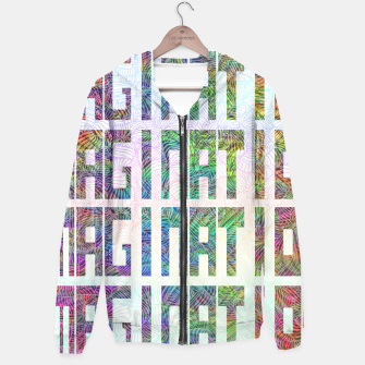 Thumbnail image of Imagination Cotton zip up hoodie, Live Heroes