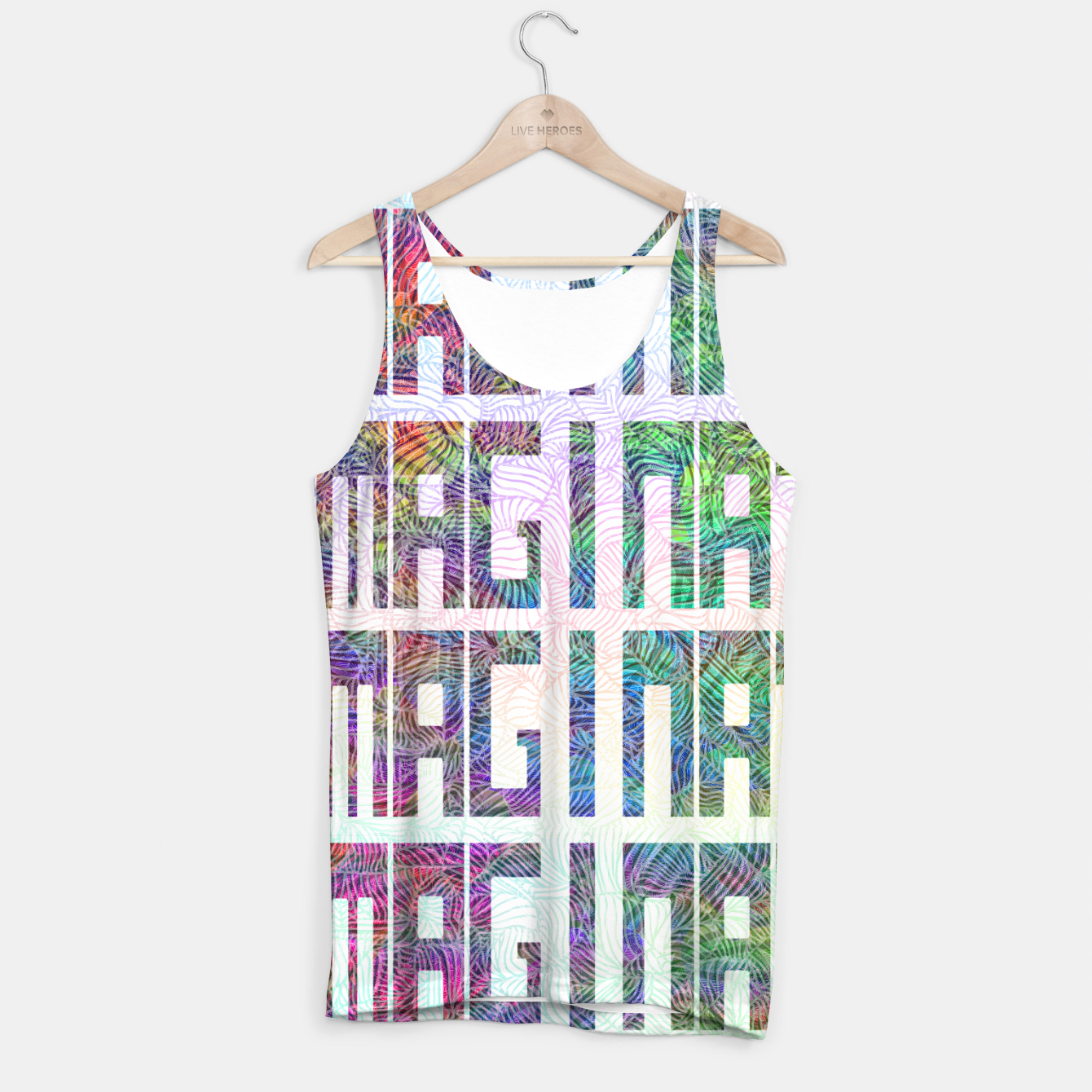 Image of Imagination Tank Top - Live Heroes