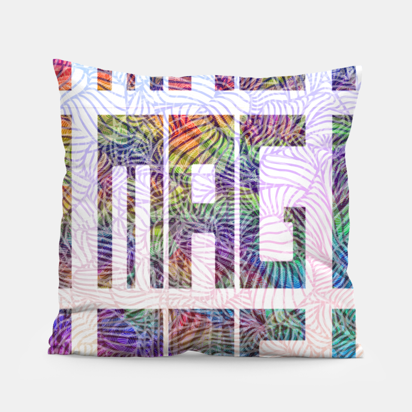 Image of Imagination Pillow - Live Heroes