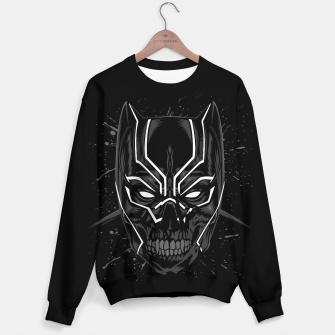 Thumbnail image of Skull Panther Sudadera de algodón, Live Heroes