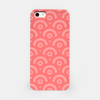 Miniaturka Abstract pattern - pink. iPhone Case, Live Heroes