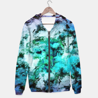 Thumbnail image of Cool places Cotton zip up hoodie, Live Heroes