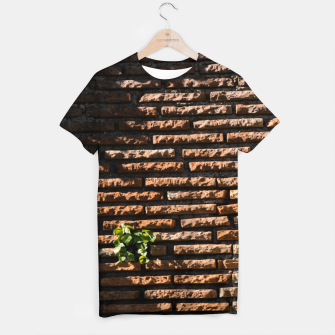 Thumbnail image of Tiles and plants T-shirt, Live Heroes