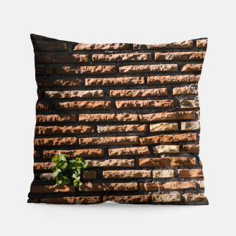 Thumbnail image of Tiles and plants Pillow, Live Heroes