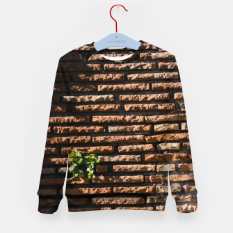 Thumbnail image of Tiles and plants Kid's sweater, Live Heroes