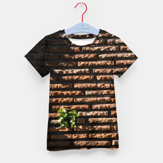 Thumbnail image of Tiles and plants Kid's t-shirt, Live Heroes