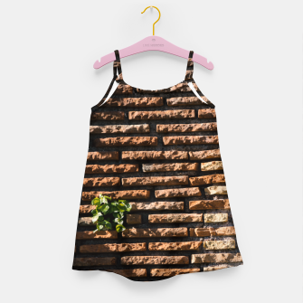 Thumbnail image of Tiles and plants Girl's dress, Live Heroes
