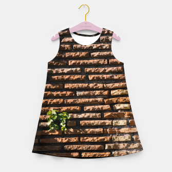 Thumbnail image of Tiles and plants Girl's summer dress, Live Heroes
